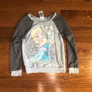 Girls Frozen Elsa Shirt